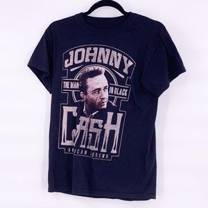 Johnny Cash black vintage t shirt size small